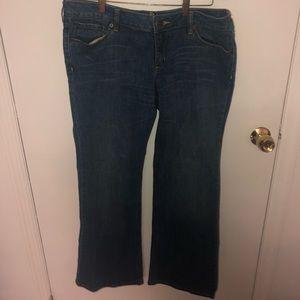 Bullhead Blue Jeans Flared Size 13 Regular